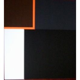 Richard Schur, Black Ray, screen print