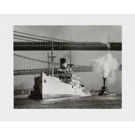 Andreas Feininger, Schiffe auf dem East River New York