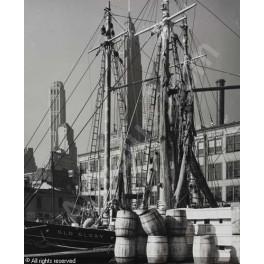 Andreas Feininger, Fischmarkt in der South Street New York