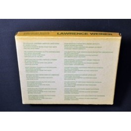 Lawrence Weiner, 8 Works of Lawrence Weiner