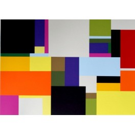 Richard Schur, Coco Rose, screen print