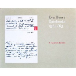 Eva Hesse, Datebooks 1964 / 65