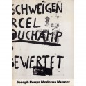 Joseph Beuys - Aktioner, Aktionen Moderna Museet
