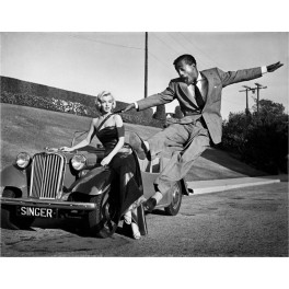 Frank Worth, Marilyn Monroe & Sammy Davis jr.